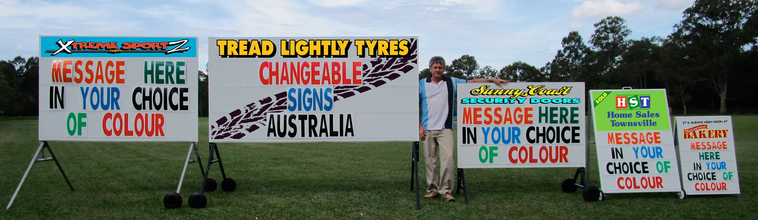 Sunshine Coast Changeable Sign Systems